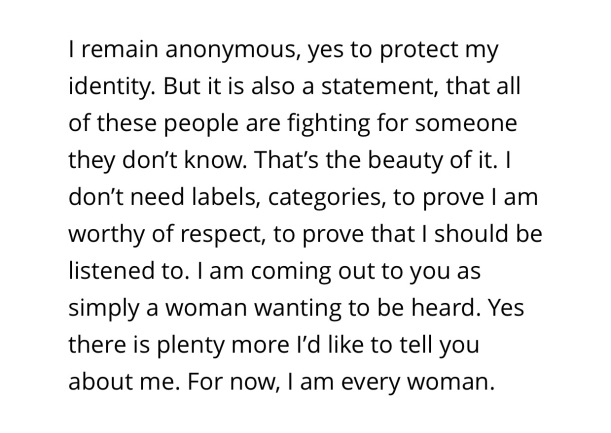 Stanford rape survivor's statement to KTVU about why she wants to retain her anonymity
